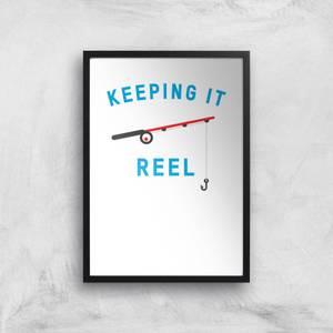 Keeping It Reel Art Print