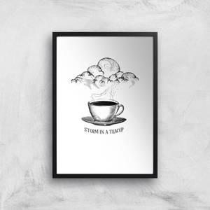 Storm In A Teacup Art Print