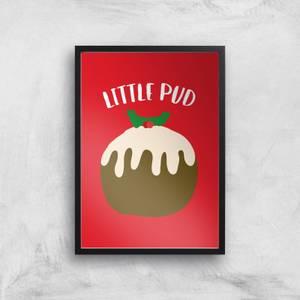 Little Pud Art Print