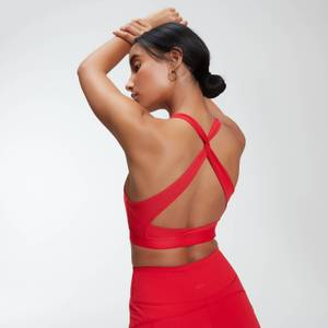 MP Power Cross Back Sports Bra för kvinnor – Röd