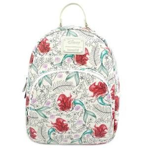 Loungefly Disney Little Mermaid Ariel Aop Mini Backpack
