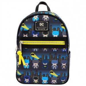 Loungefly DC Comics Batman Faux Leather Mini Backpack