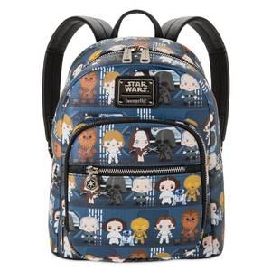 Loungefly Star Wars Chibi Mini Pu Backpack