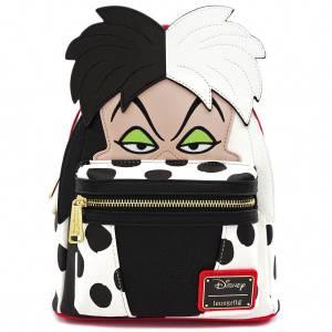 Loungefly Disney Mini Sac à Dos Cruella de Vil Les 101 Dalmatiens