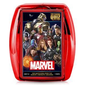 Top Trumps Quiz Game - Marvel Cinematic Universe Edition