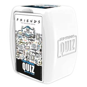 Top Trumps Quiz Game - Friends Edition
