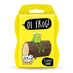 Top Trumps Junior Card Game - Oi Frog Edition