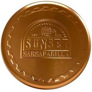 Fallout Sunset Sarsaparilla Metal Coasters
