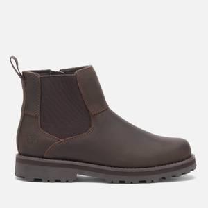 Timberland Kids' Courma Kid Chelsea Boots - Dark Brown Full Grain