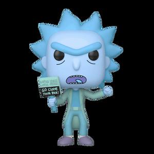 Figura Funko Pop! - Rick Holograma Clone - Rick y Morty