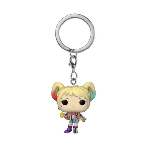 Birds of Prey Harley Quinn (Caution Tape) Pop! Keychain
