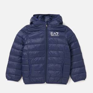 Emporio Armani EA7 Boys' Sporty Core Identity Hooded Jacket - Navy