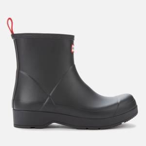 Hunter Men's Original Play Short Boots - Black