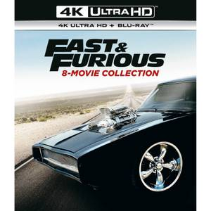 Fast & Furious 1-8 - 4K Ultra HD
