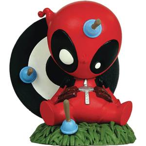 Gentle Giant Marvel Animated Mini-Heroes Deadpool PVC Statue
