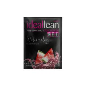 IdealLean Pre-Workout - Watermelon Ice - Sample
