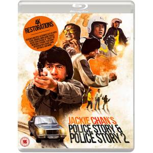 Jackie Chan's Police Story & Police Story 2 - 2-Disc Blu-Ray