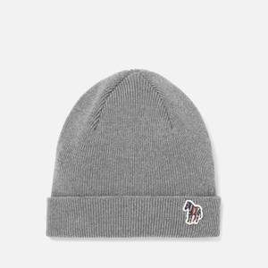 PS Paul Smith Men's Zebra Beanie - Grey