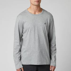 Polo Ralph Lauren Men's Long Sleeve Liquid Jersey T-Shirt - Andover Heather