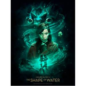 Shape of Water 'The Way He Looks at me' Lithograph Print by Ignacio RC