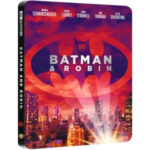 Batman & Robin - 4K Ultra HD Zavvi UK Exclusive Steelbook (Includes 2D Blu-ray)