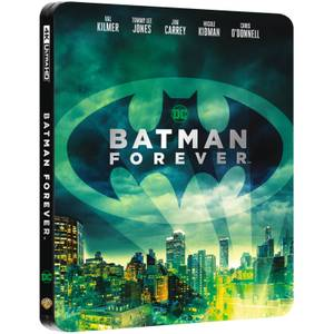 Batman Forever - 4K Ultra HD Zavvi UK Exclusive Steelbook (Includes 2D Blu-ray)