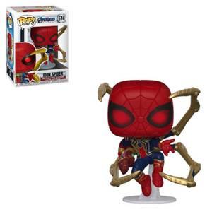 Marvel - Iron-Spider Con Nano Gauntlet Figura Pop! Vinyl