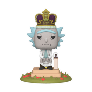 Rick and Morty King Rick Funko Pop! Deluxe