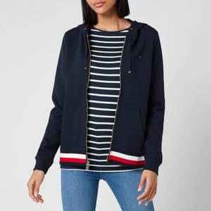 Tommy Hilfiger Women's Heritage Zipthrough Hoodie - Midnight