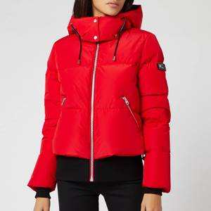 Mackage Women's Aubrie Short Classic Down Coat - Red