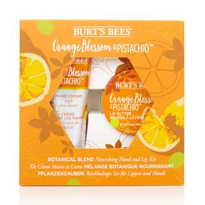 Burt's Bees Botanical Blend Nourishing Hand and Lip Kit - Orange Blossom & Pistachio