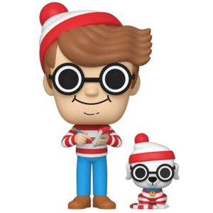 Where's Waldo Waldo with Woof EXC Funko Pop! Vinyl
