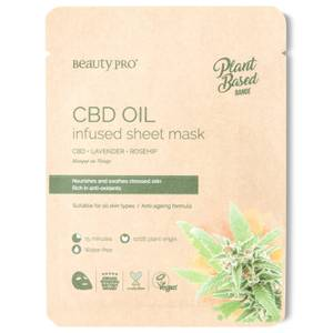 BeautyPro CBD Oil Infused Sheet Mask