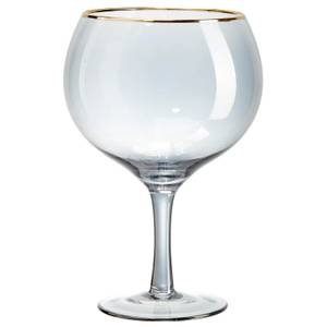 Root7 Black & Gold Gin Balloon Glass (2 Pack)
