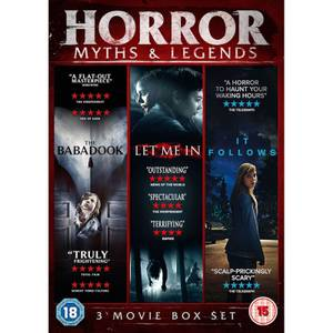 Horror Myths & Legends Boxset (The Babadook / IT Follows / Let Me In)