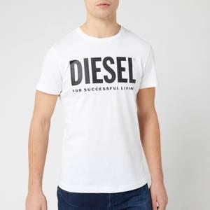Diesel Men's Diego Logo T-Shirt - Bright White