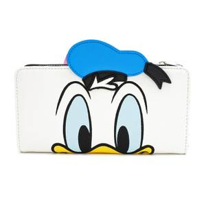 Loungefly Disney Donald and Daisy Duck Reversible Wallet