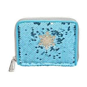 Loungefly Disney Frozen Elsa Reversible Sequin Wallet