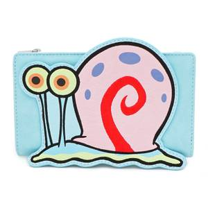 Loungefly Spongebob Squarepants Gary 20th Anniversary Wallet