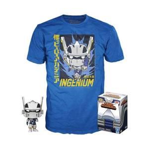 My Hero Academia - Set Pop & T-shirt Iida Tenya Ingenium EXC