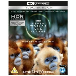 Seven Worlds, One Planet - 4K UltraHD (Includes Blu-Ray)