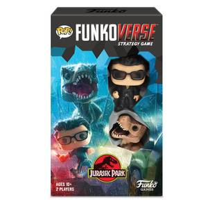 Funkoverse Jurassic Park Strategy Game (2 Pack)
