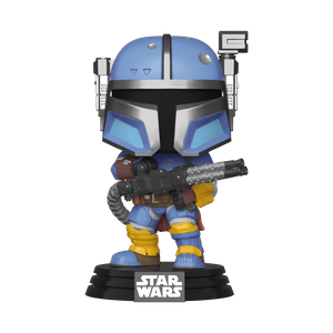 Star Wars The Mandalorian Heavy Infantry Mandalorian Funko Pop! Vinyl