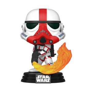 Star Wars The Mandalorian Incinerator Stormtrooper Pop! Vinyl Figure