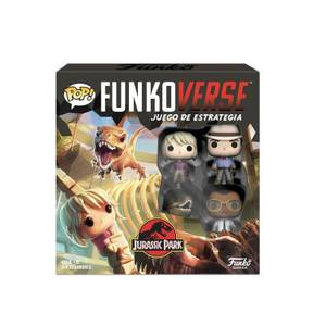 Funkoverse Jurassic Park Strategy Game (Spanish)