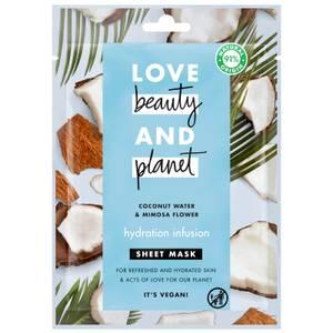 Love Beauty & Planet Hydration Infusion Sheet Mask