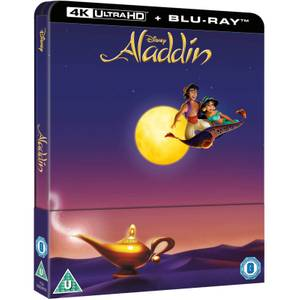 Aladdin (Animation) – 4K Ultra HD Zavvi Exclusive Steelbook (Includes 2D Blu-ray)