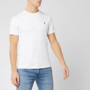 Polo Ralph Lauren Men's Custom Slim Fit Soft Cotton T-Shirt - White