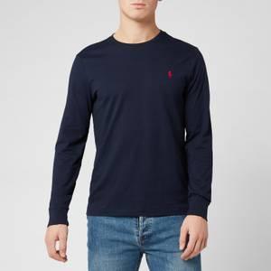 Polo Ralph Lauren Men's Long Sleeve Basic Cotton Top - Ink