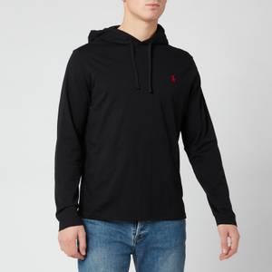 Polo Ralph Lauren Men's Polo Player Hooded Top - Black